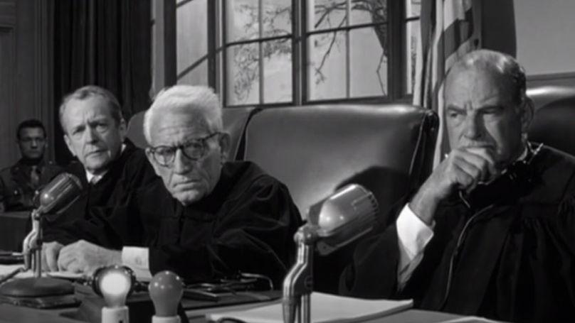 A still from 'Judgment at Nuremberg' (1961, USA)