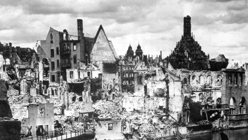 Nuremberg, 1945 // Keystone/Second Roberts Commission