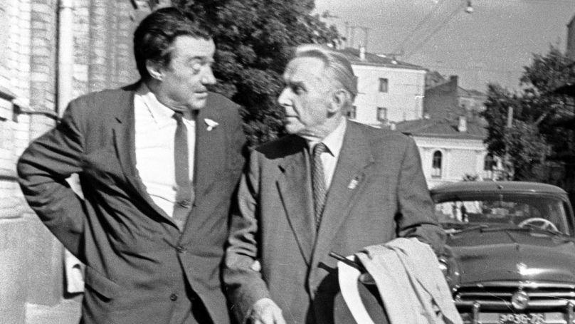 Boris Polevoï et Konstantin Fedine
