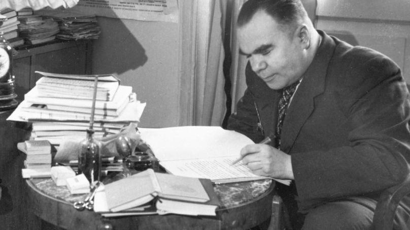 L'écrivain Vsevolod Viсhnevski
