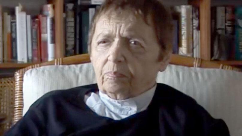Gitta Sereny // Capture d'écran d'une vidéo de la chaîne YouTube Web of Stories - Life Stories of Remarkable People