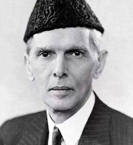 Muhammad Ali Jinnah, an Indian Muslim leader, 1945