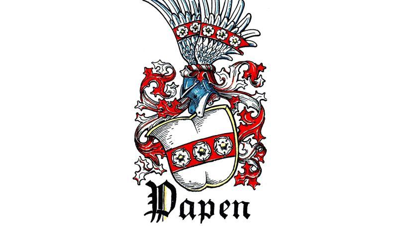 Les armoiries de la famille von Papen // Otto Hupp, Münchener Kalender 1934