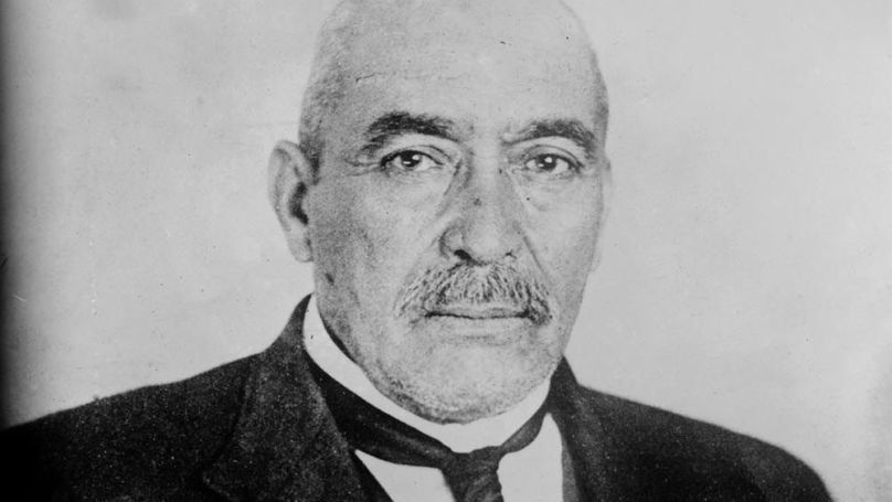 Le Président mexicain, le général Victoriano Huerta // United States Library of Congress's Prints and Photographs division
