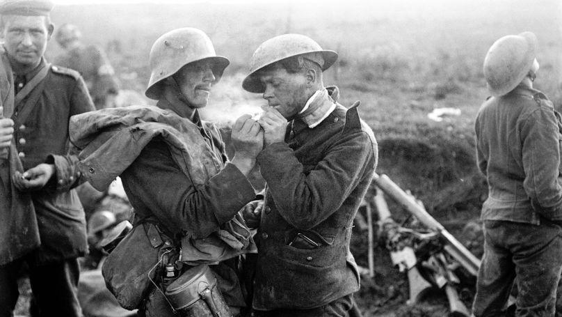 Première Guerre mondiale, la trêve, décembre 1914 // www.flickr.com / CC BY-NC-ND 2.0