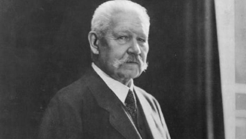 Le Président du Reich Paul von Hindenburg, 1932 // Bundesarchiv, Bild 183-R17289 / CC-BY-SA 3.0
