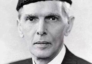 Le leader musulman indien Muhammad Ali Jinnah, 1945