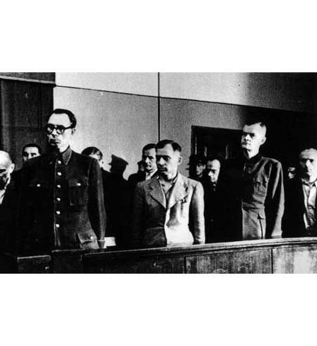 The trial of Andrey Vlasov