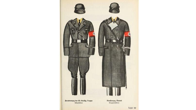 Uniforme de parade du commandant SS // USHMM