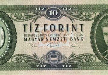 Billet de 10 forints