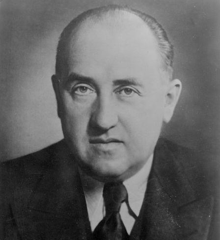 Reichsminister für Wirtschaft Walter Funk