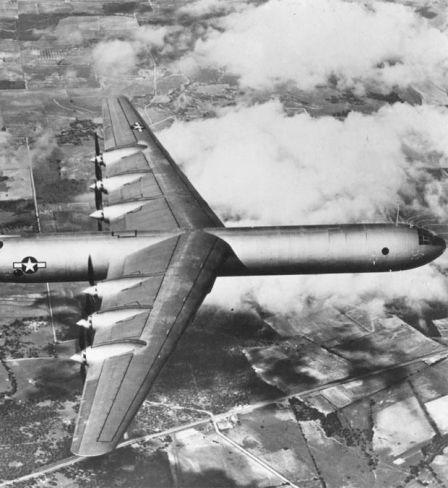 Le premier vol du B-36