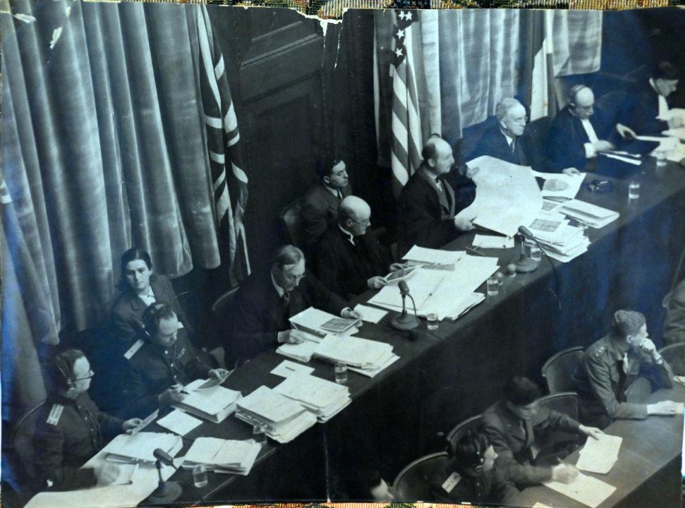 Juges du tribunal militaire international. Archives de la famille Reznitchenko.