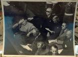 Bloc des accusés du tribunal international. Archives de la famille Reznitchenko.