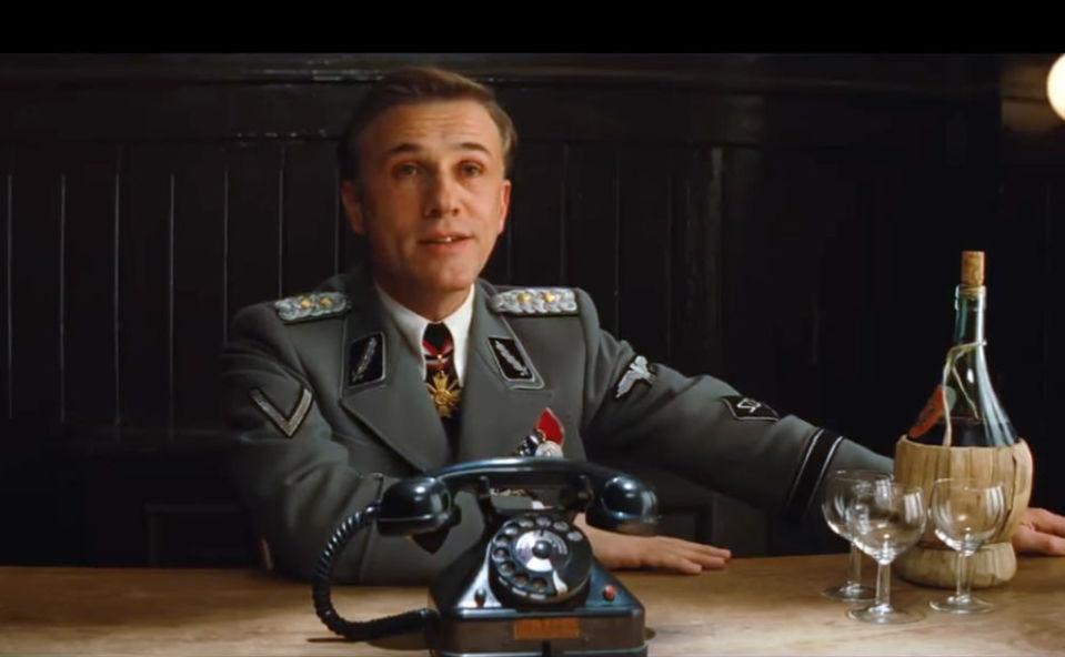 Christoph Waltz as Hans Landa in Inglourious Basterds