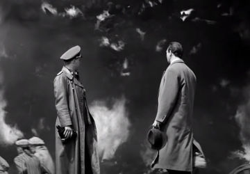 """A screenshot from the movie """"Schindler's List"""""""