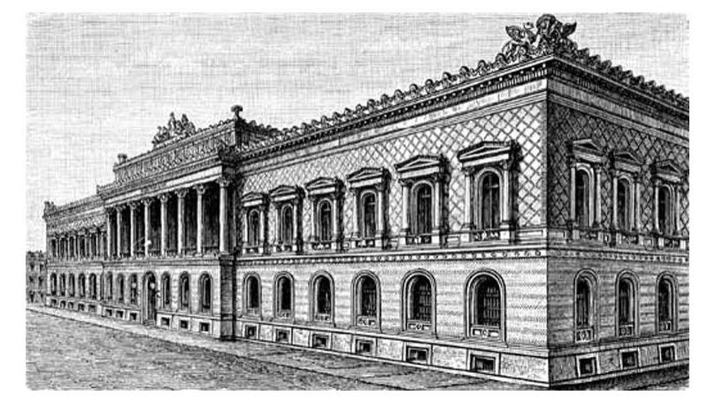 The Reichsbank building in Berlin
