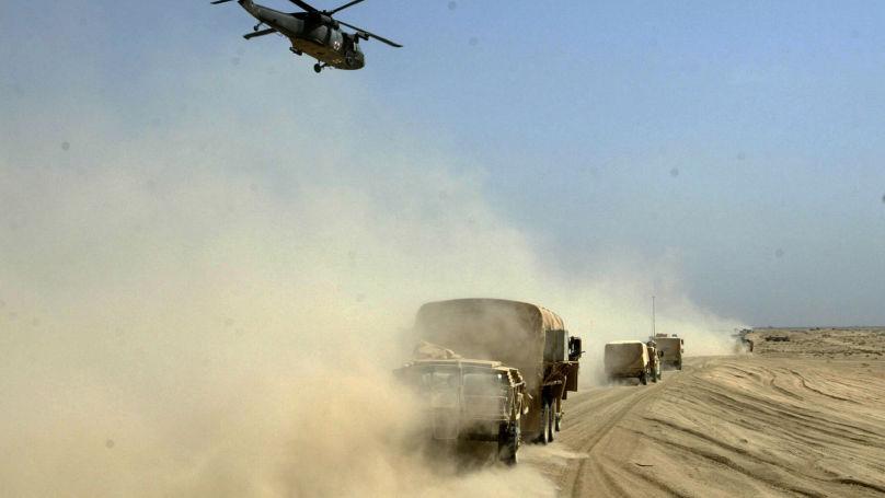 Troupes US en Irak