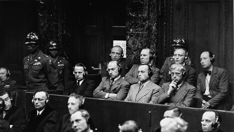 The Einsatzgruppen Trial at Nuremberg (officially, The United States of America v Otto Ohlendorf) – the ninth of 12 Nuremberg Military Tribunals against Nazi war criminals