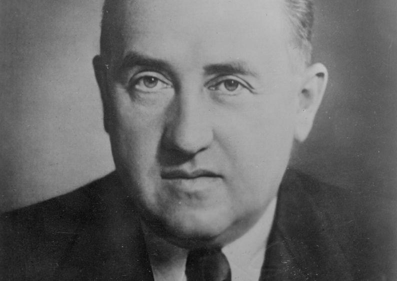 Ministre de l'économie du Reich Walther Funk // www.audiovis.nac.gov.pl