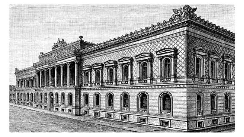 Bâtiment de la Reichsbank à Berlin