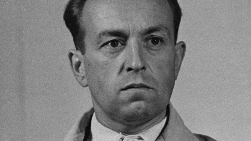 Erich Naumann, сommandant de l'Einsatzgruppe B / US Army, USHMM