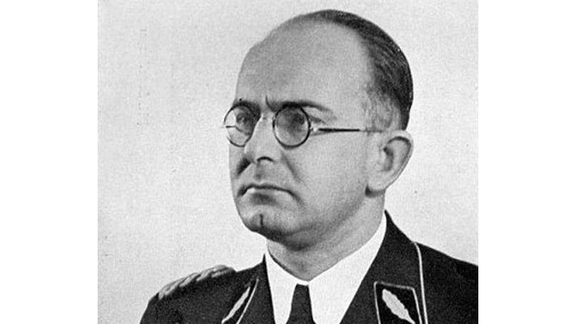 Franz Sieks, сhef du Sonderkommando 7c (Vorkommando Moskau)
