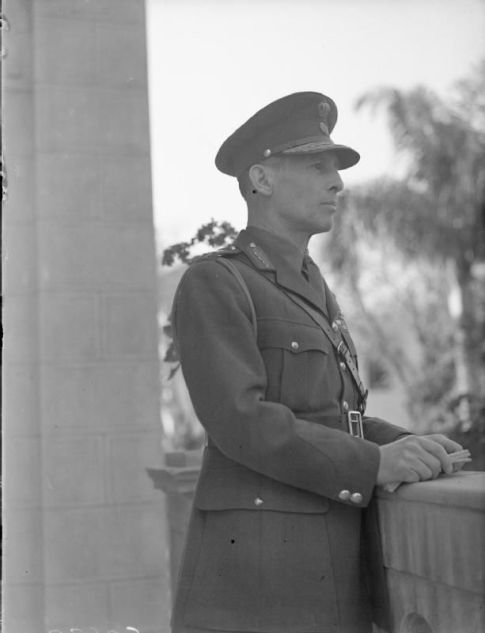 King George II, Head of the Greek Government in exile, 1941.
