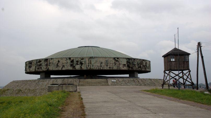 The Majdanek concentration camp