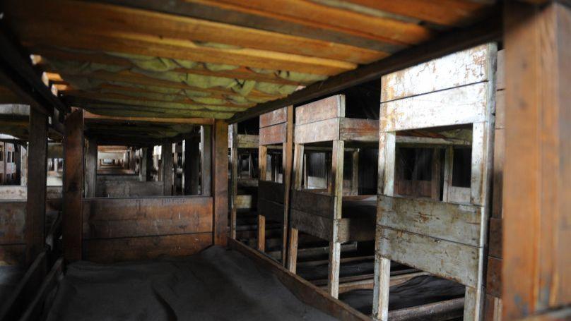 Barracks at the Majdanek concentration camp