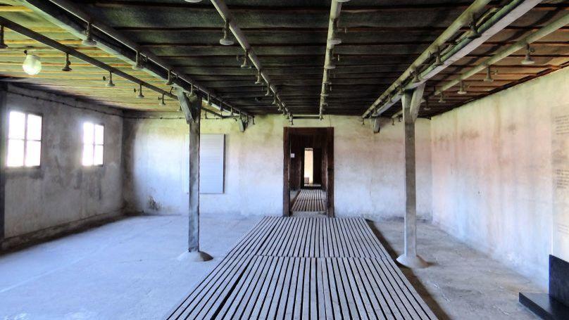 Shower chamber at Majdanek