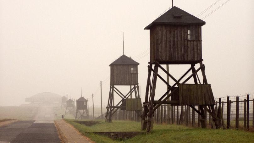 Watchtowers at Majdanek camp