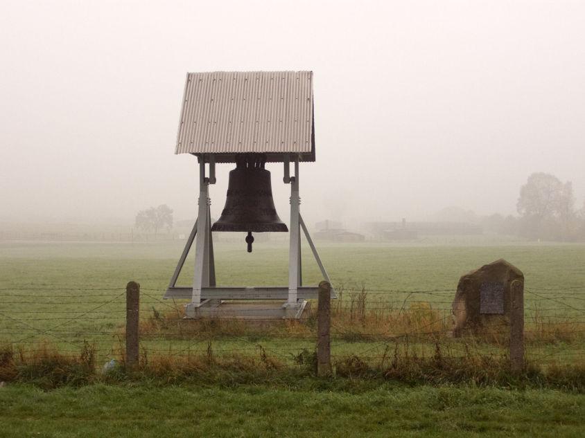 Camp de concentration de Majdanek. Cloche du camp // Alians PL