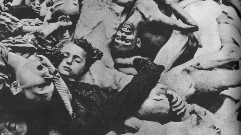 Corps des victimes du camp de concentration de Majdanek