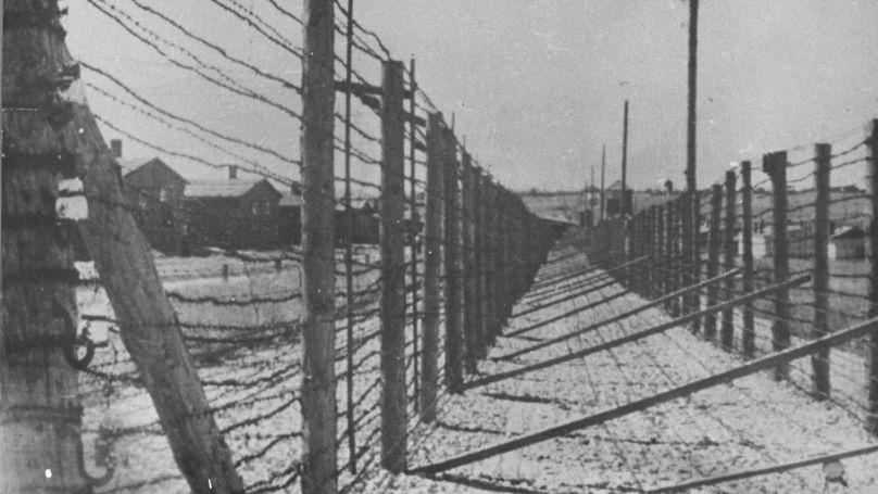 Clôture du camp de concentration de Majdanek