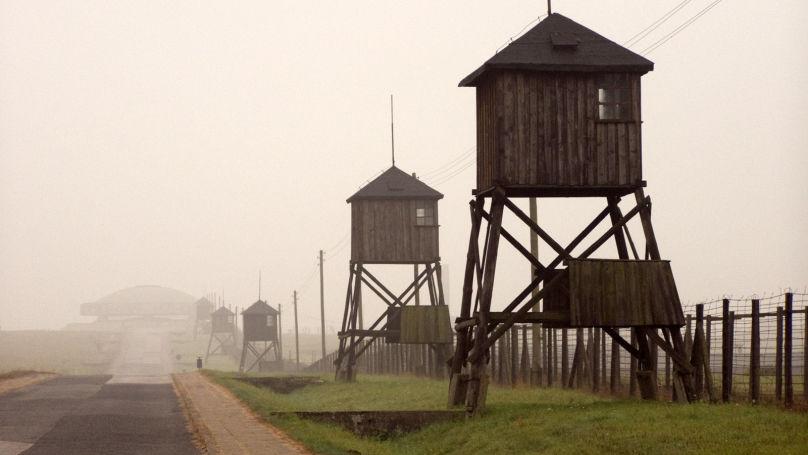 Tours de guet entourant le camp de concentration nazi de Majdanek// Alians PL