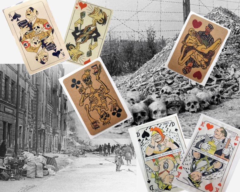 Can a card game be something more than just a game? Surviving in a concentration camp was like playing dice with death. The imaginary disarmament of the enemy – it`s a game where the results aren't obvious, but can still be appreciated.