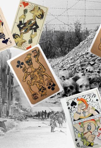 Un jeu de cartes peut-il être plus qu'un simple jeu? Pour un prisonnier, survivre dans un camp de concentration était un jeu de mort. Désarmer moralement l'ennemi était un jeu au résultat peu évident, mais extrêmement puissant.