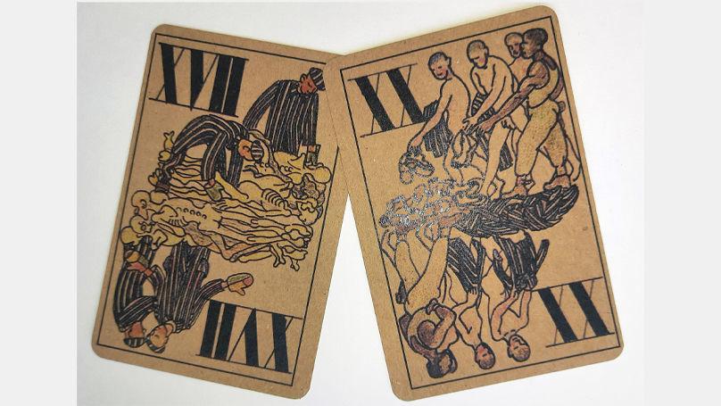 Le jeu de cartes de Kobé décrit le tourment, l'humiliation et la mort