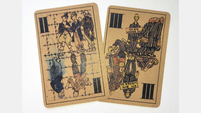 Le jeu de cartes unique de Boris Kobé est une sorte de version miniature de l'enfer de Dante