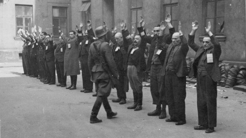 Habitants du ghetto de Varsovie // USHMM