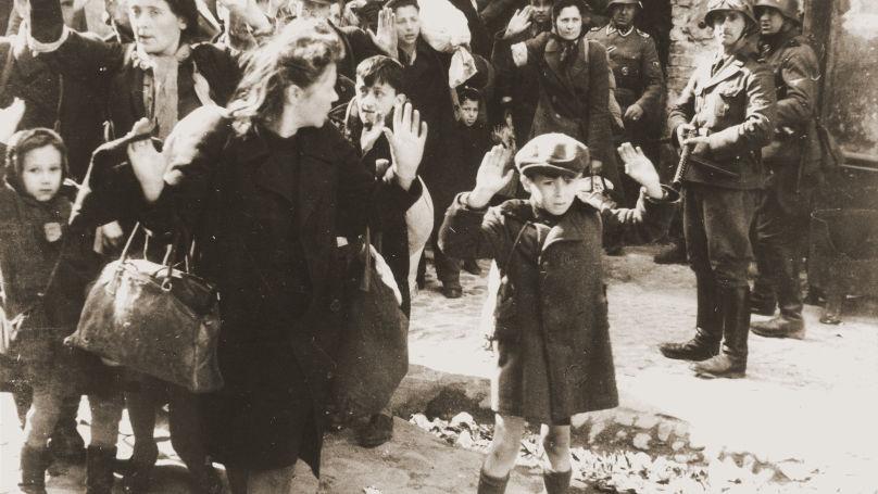 Enfant du ghetto juif de Varsovie