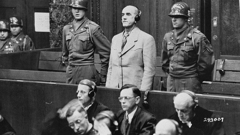 Annonce du verdict à Oswald Pohl // USHMM