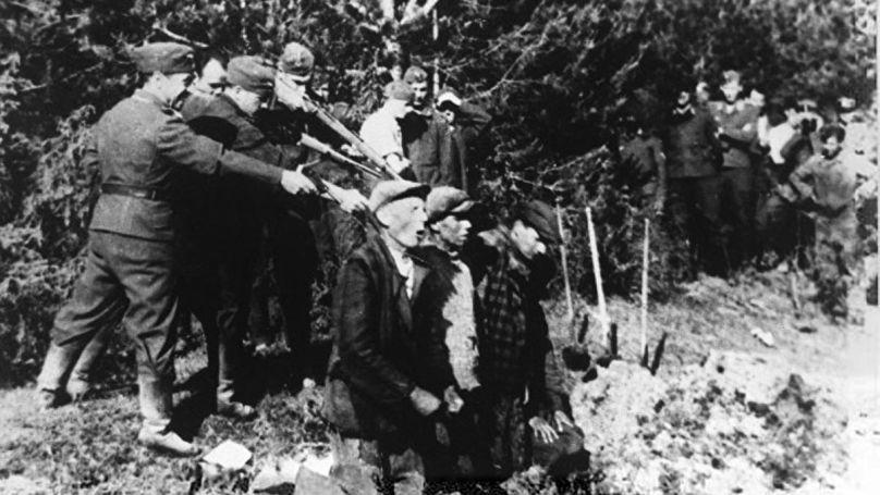 Exécution de civils à Kovno