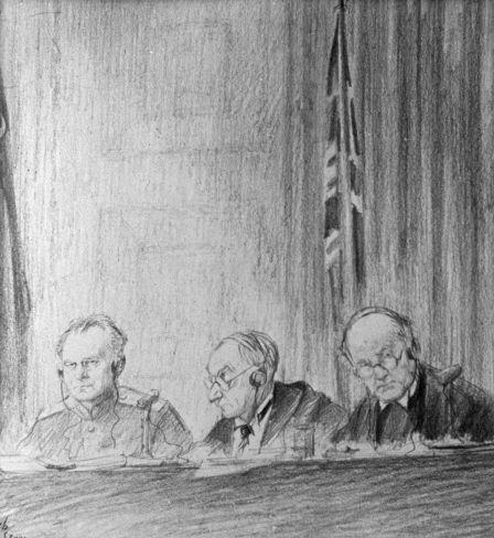 Juges, dessin de Nikolaï Joukov