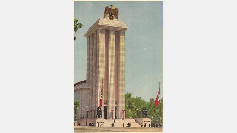 Le pavillon allemand à l'exposition universelle de 1937 à Paris
