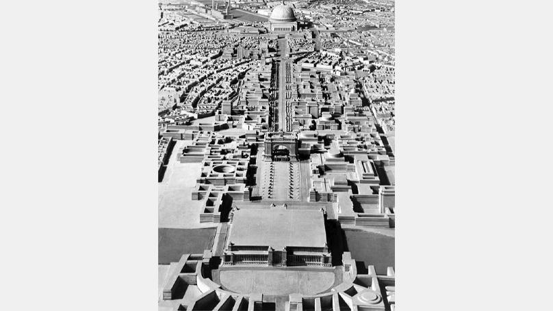 Modèle pour la «transformation de la capitale impériale Berlin en Germania»